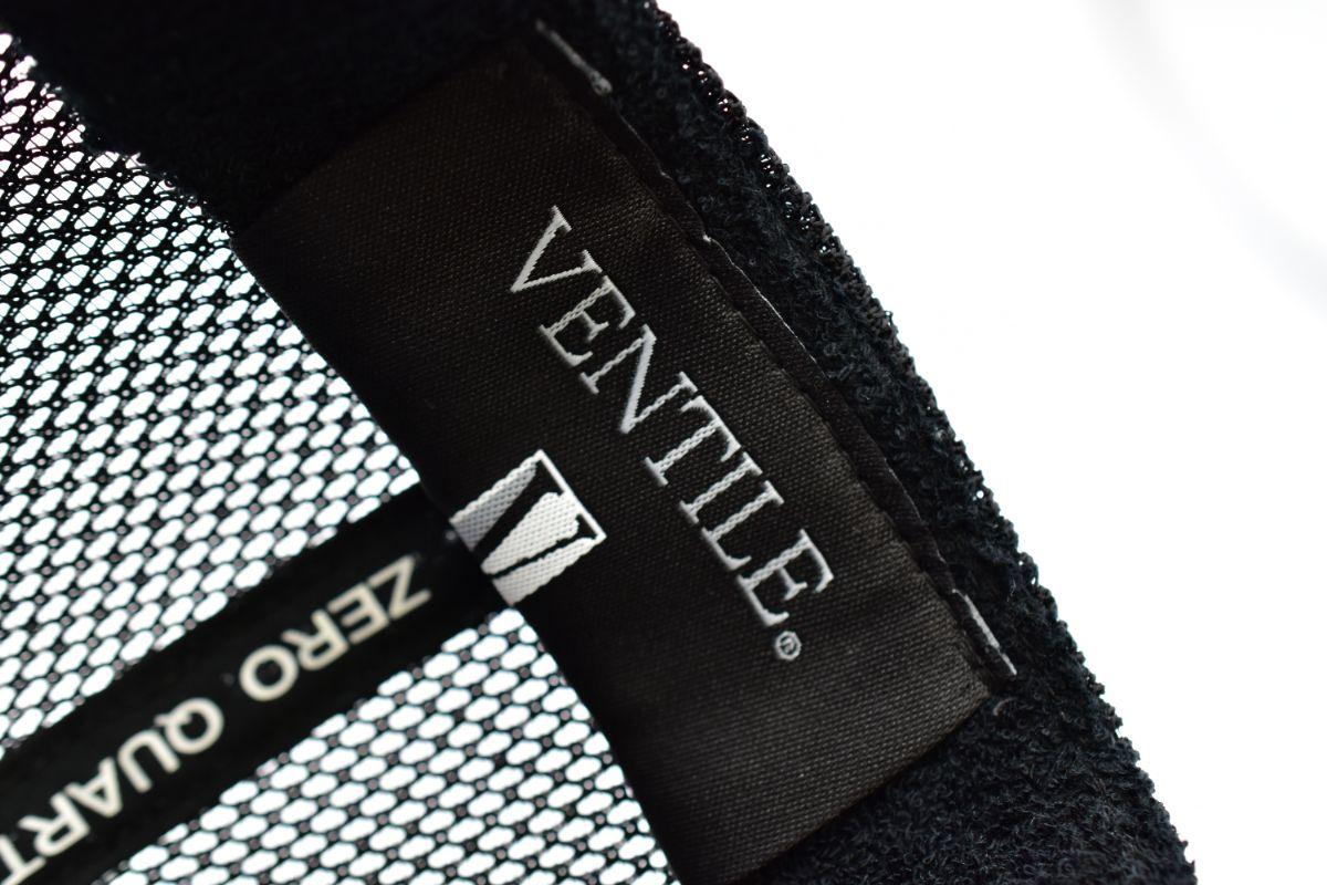 ZQ flower MESH CAP BLACK(キャップ メッシュ メンズ レディース)【ZERO QUARTER MAIDE IN JAPAN SHOP】