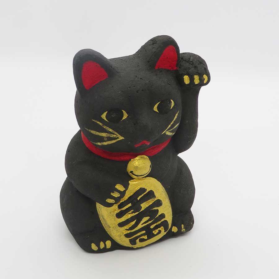 縁起の良い 招き猫 子猫【ushitora】