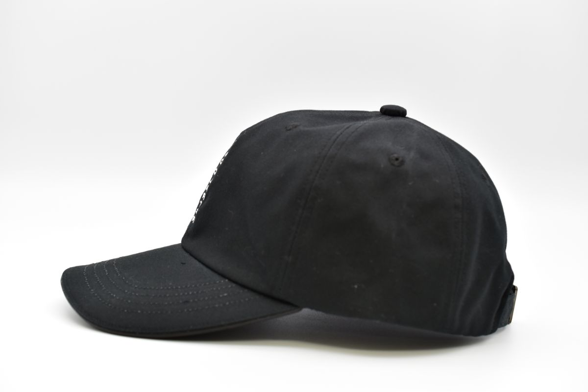 ZQ 縦LOGO 6PANEL CAP【ZERO QUARTER MAIDE IN JAPAN SHOP】