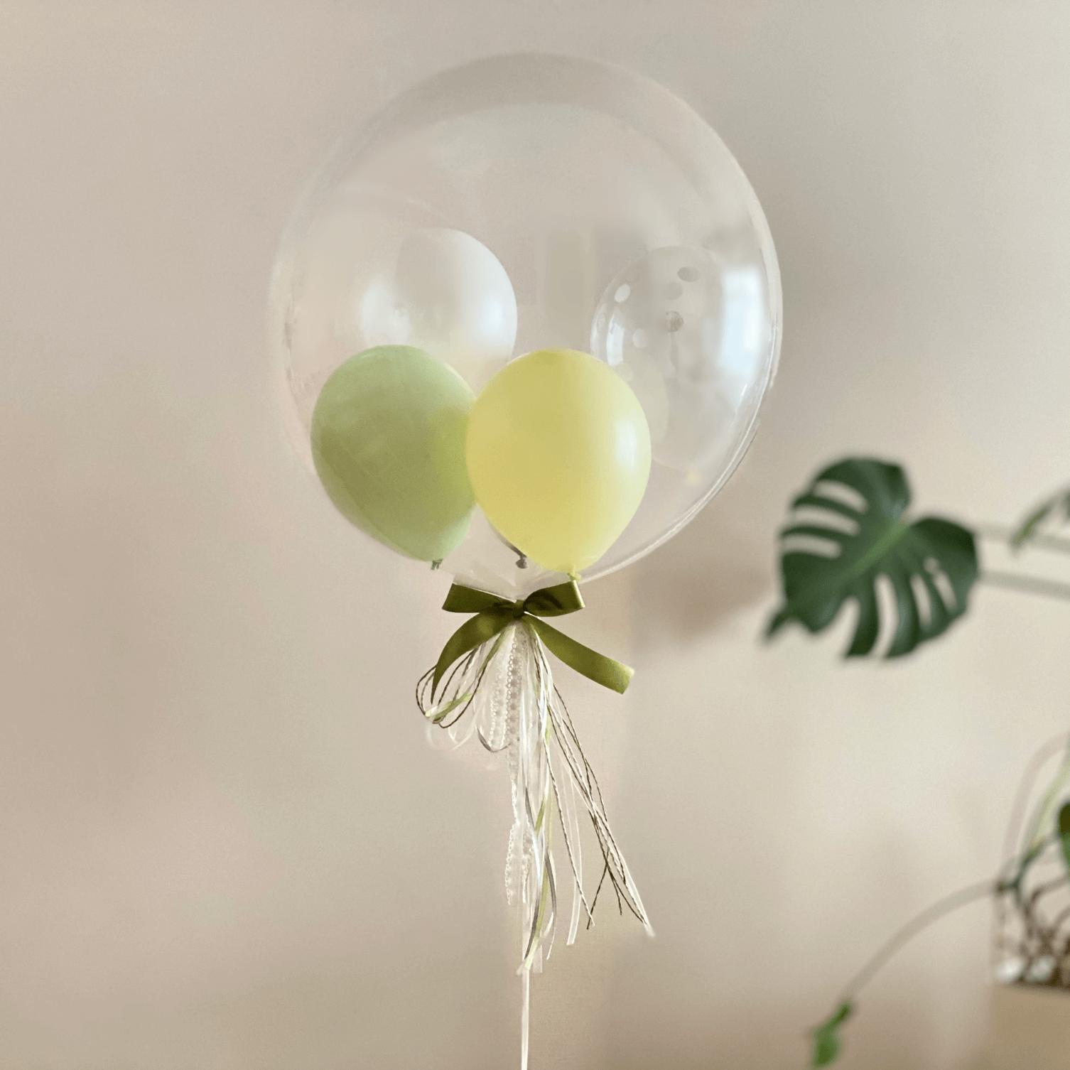 クリアーバルーン/グリーン