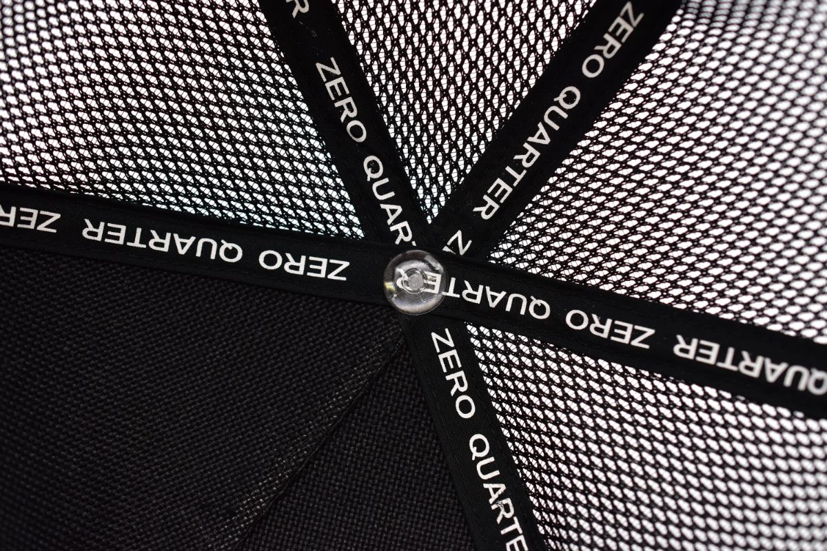 ZQ BOX LOGO MESH CAP(キャップ メッシュ メンズ レディース)【ZERO QUARTER MAIDE IN JAPAN SHOP】