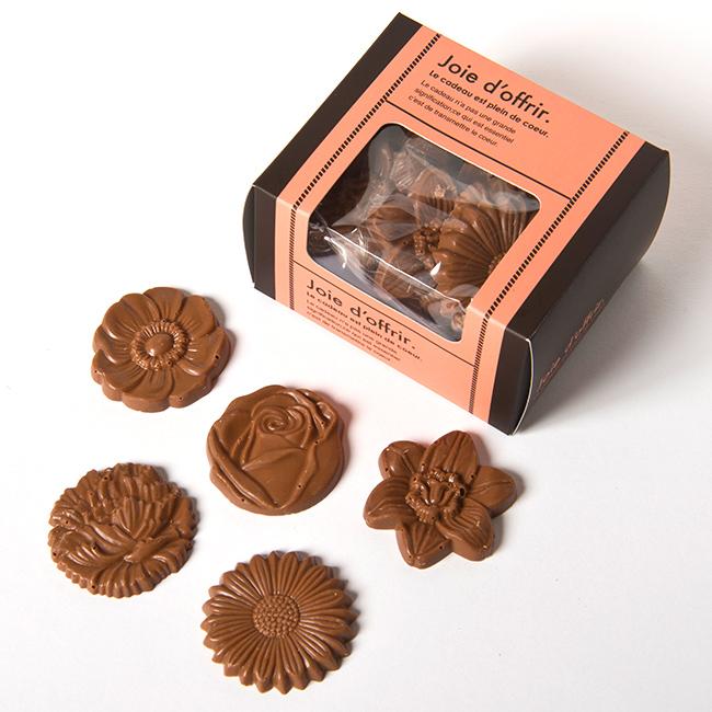 ベルギーチョコレート フラワーミルク 15枚入り