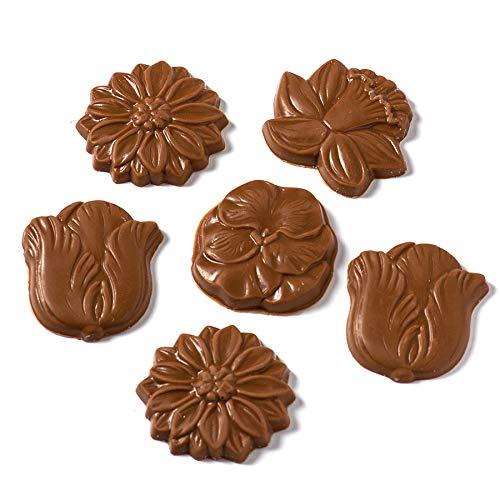 ベルギーチョコレート フラワーミルク 5枚入り