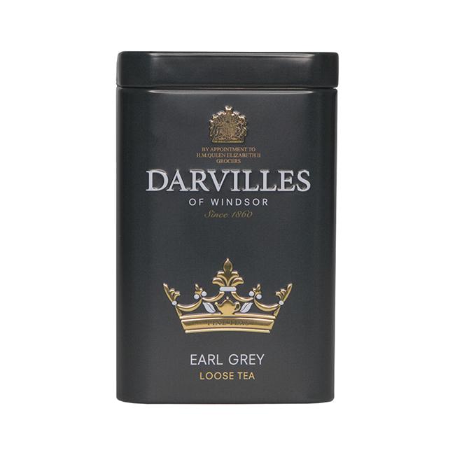ダーヴィルス・オブ・ウィンザー アールグレイ リーフ 缶 100g
