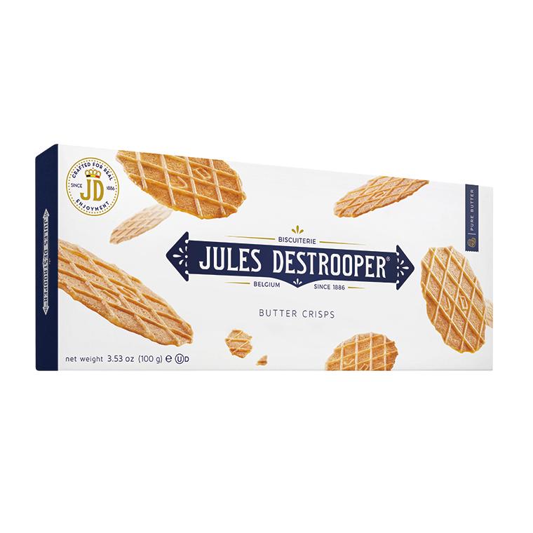 ジュールスデストルーパー バタークリスプ 100g(10枚入り)