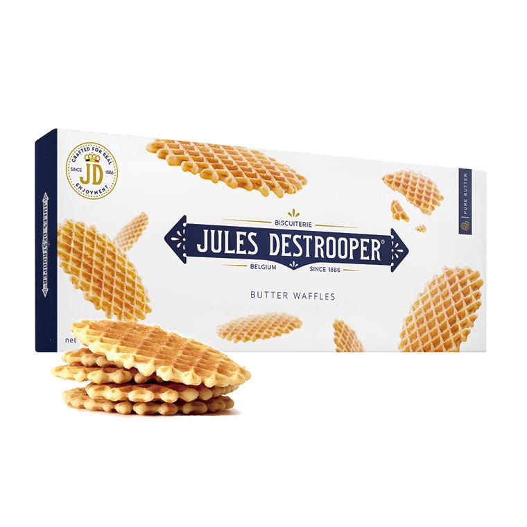 ジュールスデストルーパー バターワッフル 100g(8枚入り)