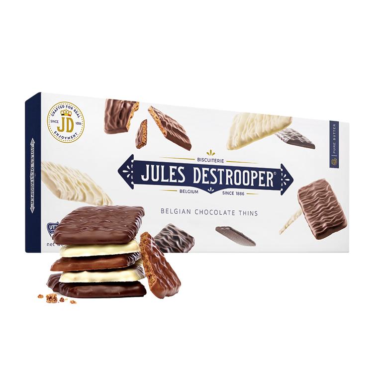 ジュールスデストルーパー チョコレートシン 100g(10枚入り)