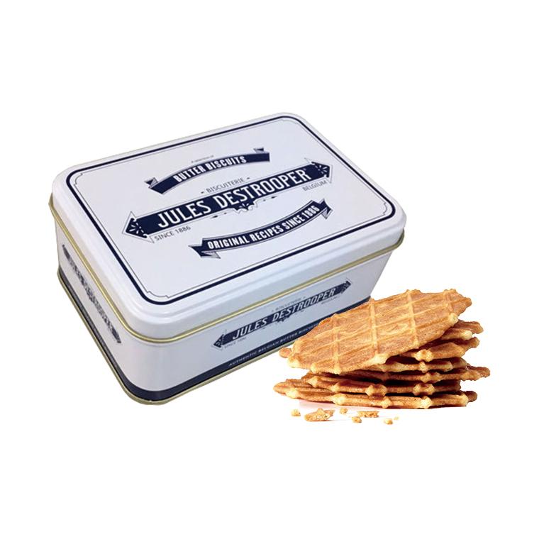 ジュールスデストルーパー ミニレトロ缶 75g(バタークリスプ約7枚入り)