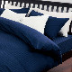 西川リビング ホテル仕様 ルクト掛け布団カバー サテンストライプ