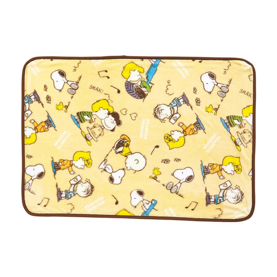 かわいいスヌーピー掛け毛布(ピーナッツフレンズ)