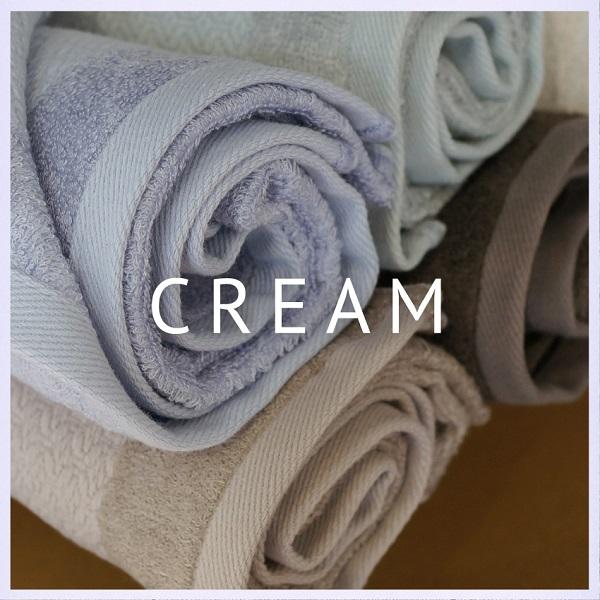 今治産タオルORIM(オリム)Cream(クリーム)スクワラン配合