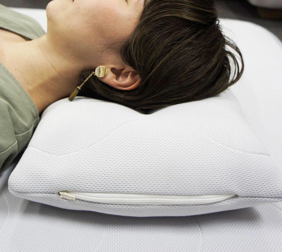 エアー構造 日本製冷感寝具 アイスワークス ひんやり枕