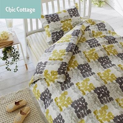 2重ガーゼ 枕カバー chic cottage little stone ピローケース