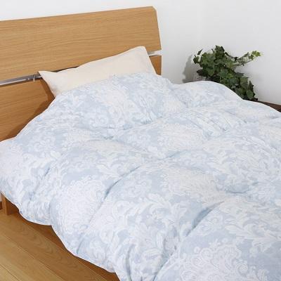 快眠セラピストおすすめ羽毛掛け布団プレミアムホワイトグースダウン90%