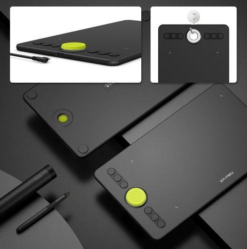 Deco 02 手描きのアナログ感とデジタルの両方の良さを活かしたペンタブレット メーカー保証18ケ月