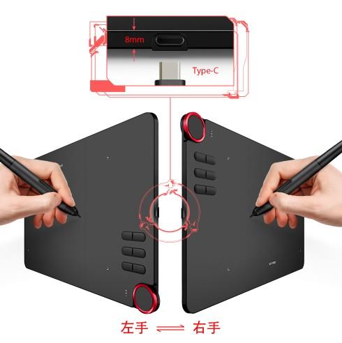 Deco 03 ワイヤレスとUSB接続両方で使えるペンタブレット メーカー保証期間18ケ月