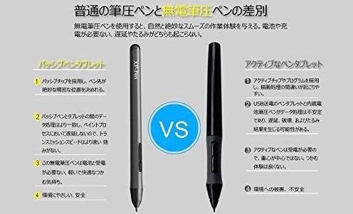 P01 バッテリーフリー・スタイラスペン