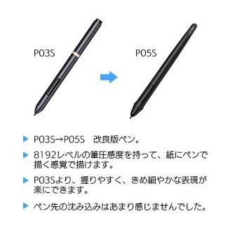 P05S バッテリーフリー・スタイラスペン