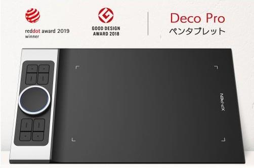 Deco Pro S プロフェッショナルシリーズペンタブレット  メーカー保証期間18ケ月