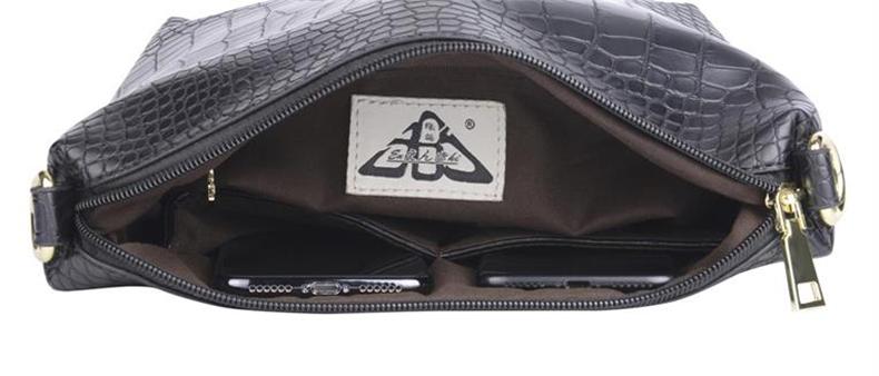 ENKI レディース トートバッグ ショルダーバッグ 手提げ 2way 肩がけ 高品質 PU レザー ハンドバッグ black