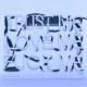 ネオン サイン 『TRUST ME LOVE ME RUCK ME』NEON SIGNネオン管 ディスプレイ ボード、カフェ、喫茶店、広告用看板、クラブ及び娯楽場所等 インテリア アメリカン雑貨 27.9*20.3cm