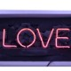 ネオン サイン、『LOVE』NEON SIGNネオン管、ディスプレイ ボード、カフェ、喫茶店、広告用看板、クラブ及び娯楽場所等 インテリア アメリカン雑貨 35.6*12.7cm