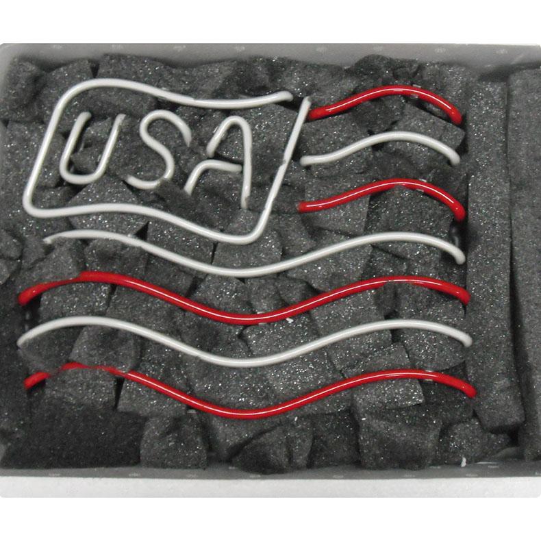 ネオン サイン、『TN USA』NEON SIGNネオン管、ディスプレイ ボード、カフェ、喫茶店、広告用看板、クラブ及び娯楽場所等 インテリア アメリカン雑貨 30*22cm