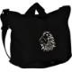Enki ショルダー バッグ 大容量 2way 厚手 キャンバス 帆布 サコッシュバッグ A4 刺繍入りポケット付き ユニセックス 通勤 通学 旅行
