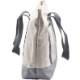 Enki トートバッグ 大容量 2way キャンバストート A4 刺繍ロゴ入り サブバック ユニセックス 通勤 通学 旅行