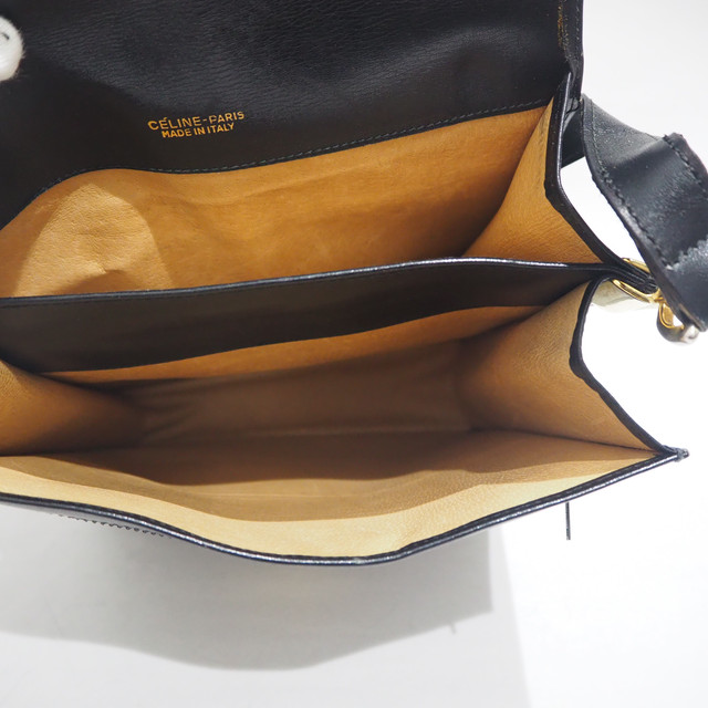 セリーヌ ボックス ショルダーバッグ