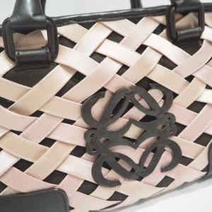 ロエベ アマソナ 29 ハンドバッグ ピンク
