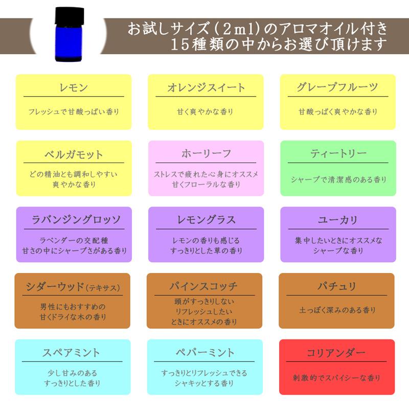 【選べる アロマオイル 付き】USB充電スタンド付き ハンディ / デスク 2WAY アロマ ファン (ピンク)