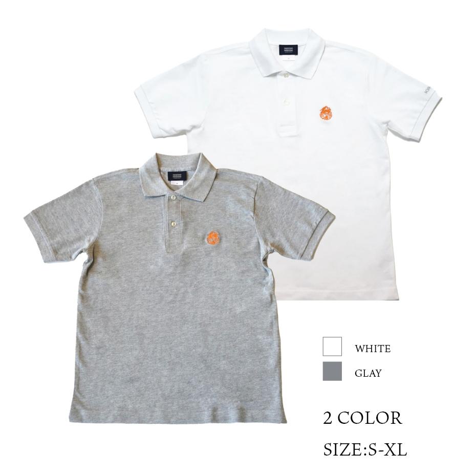 KIR*WIN 麒麟をきるインテグラルコットンポロシャツ