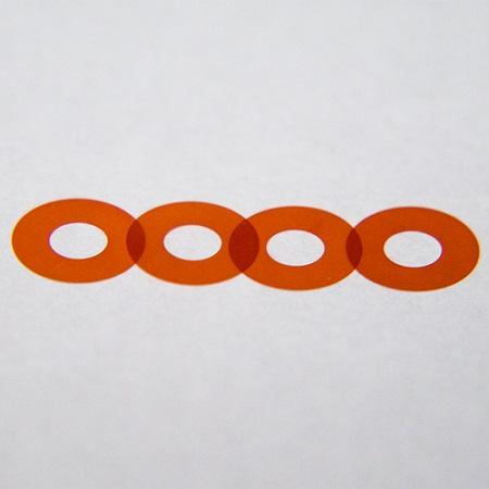 スペーサー調整用極薄ワッシャー(4枚1セット)