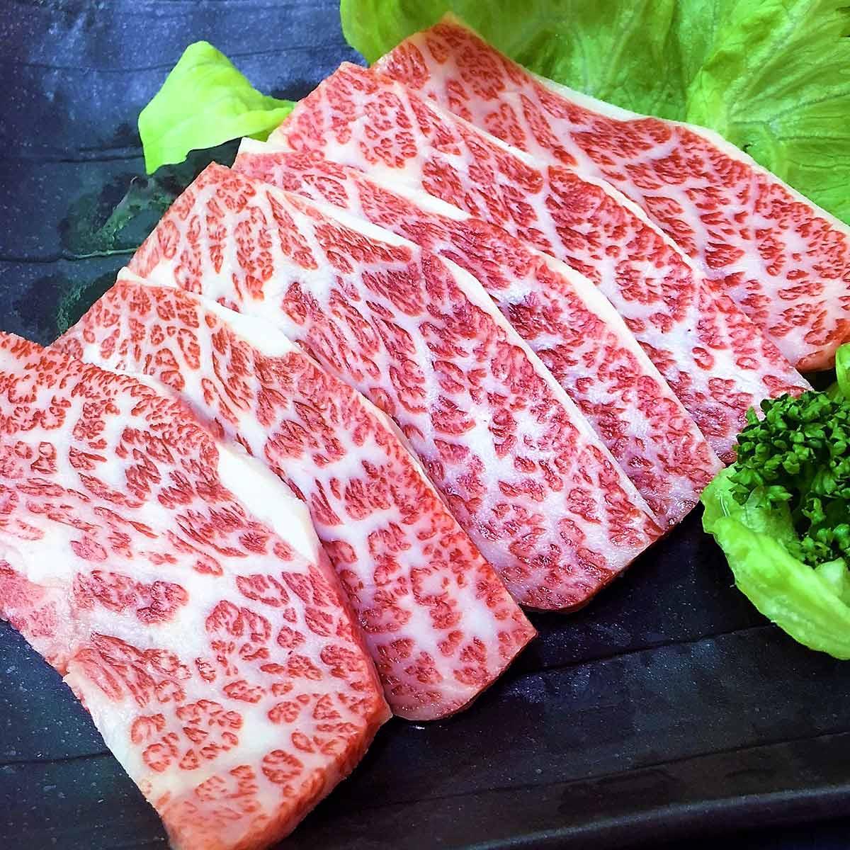 【肉の大場】米沢牛 焼肉用カルビ500g