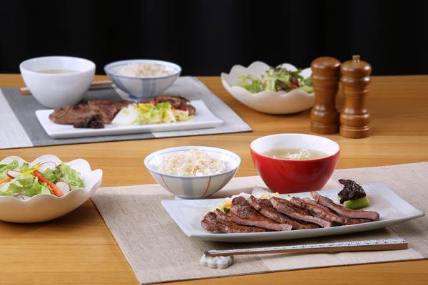 【陣中】霜降り牛タン定食セット(4人前)/テールスープ/仙台みそ南蛮