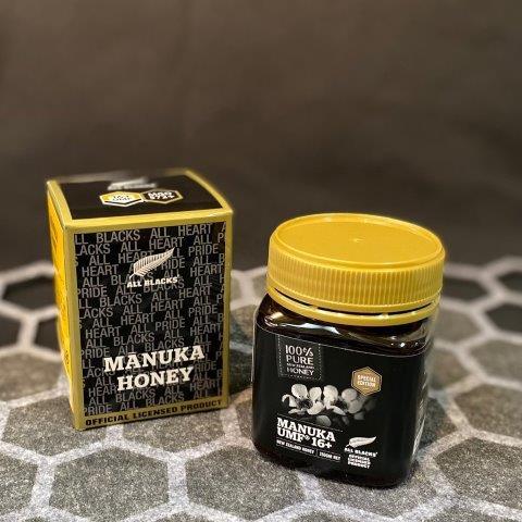 【プレイン】ALL BLACKS認定マヌカハニーUMF16+(MGO572+)