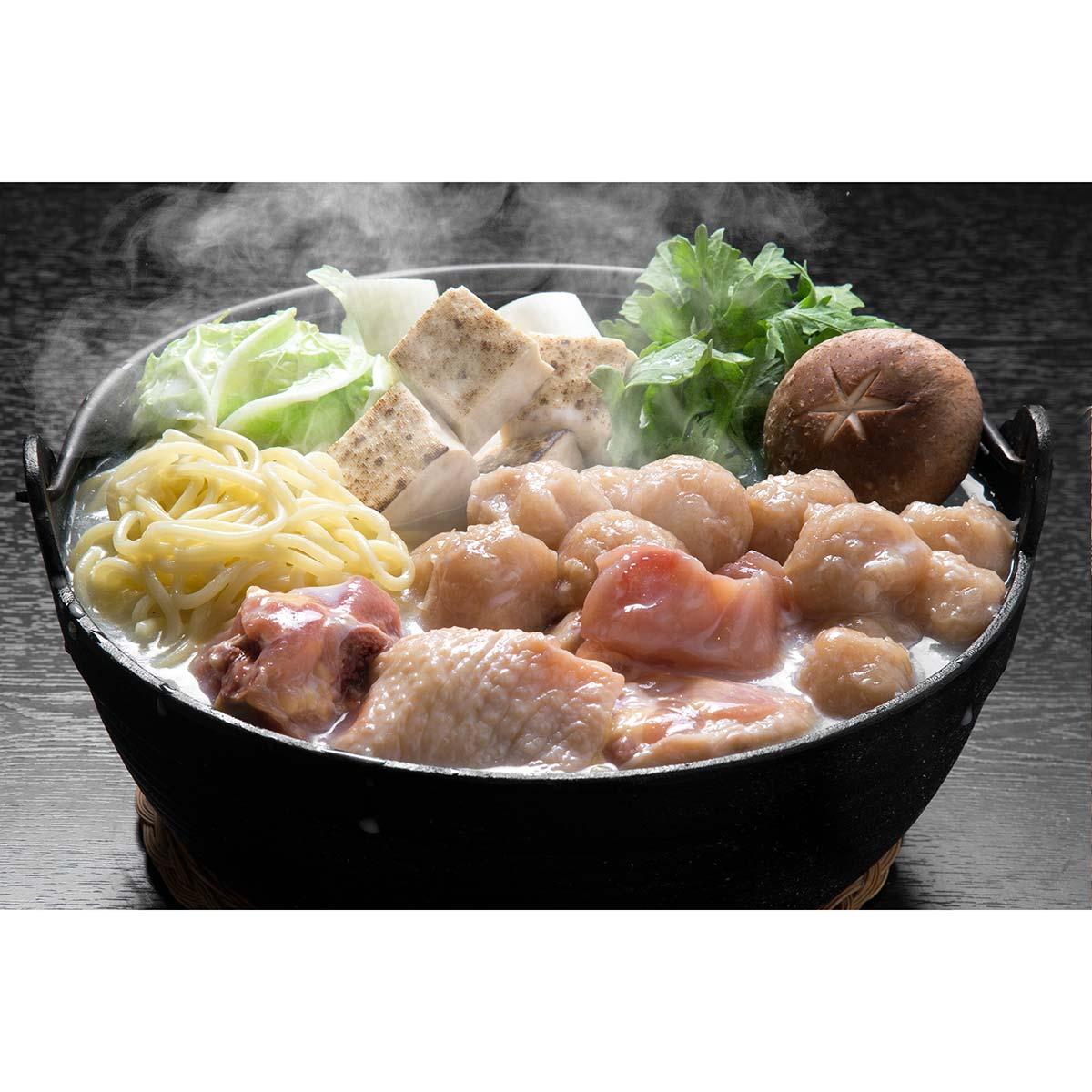 【絆屋】大分冠地どり鶏白湯鍋セット(KZ-0201)