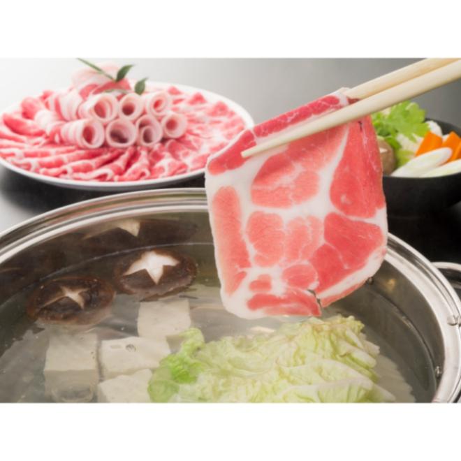 【南給】鹿児島黒豚しゃぶしゃぶセット(500g)/薩摩公兵衛/牛肉/肩ロース/豚バラ