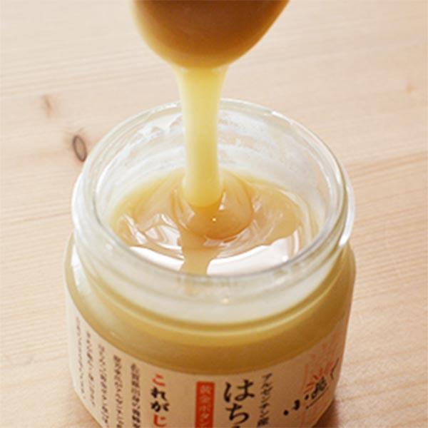【小嶋や】クリーム蜂蜜・黄金ボタン草(100g)