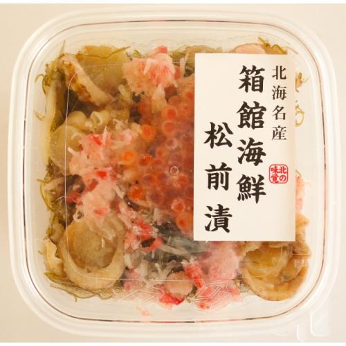 【中水食品工業】箱館海鮮松前漬 150g×4個
