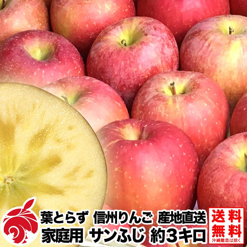 【フルプロ農園】サンふじ 家庭用 3kg(7~15玉)