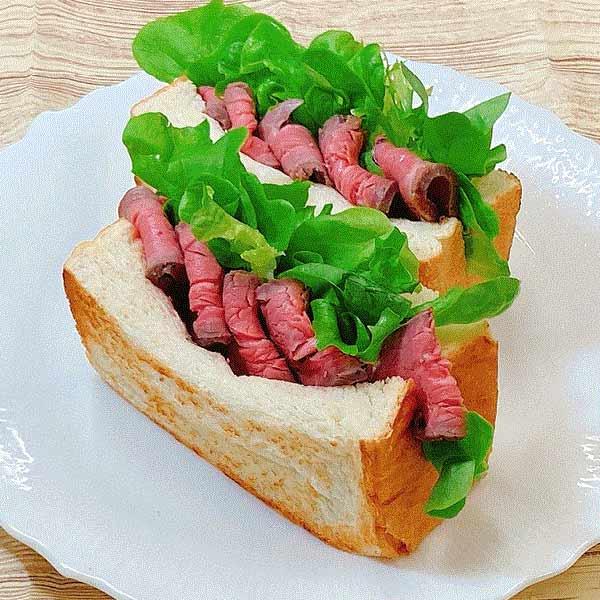 【タケダハム】希少部位「ヒウチ」使用 ヒウチローストビーフ ブロック(4個)/牛肉/牛