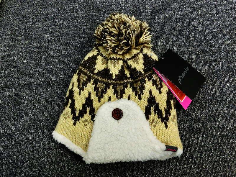 1041Y★フェニックス phenix ニット帽 PHA68HW73 ベージュ★新品/販売