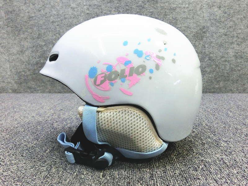 5013★FOLIO/ホワイト  JRヘルメット★シーズンレンタル