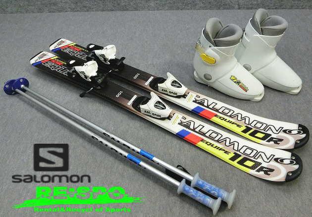 1032★サロモン EQ/10R 100cm★Sセット/商品限定レンタル