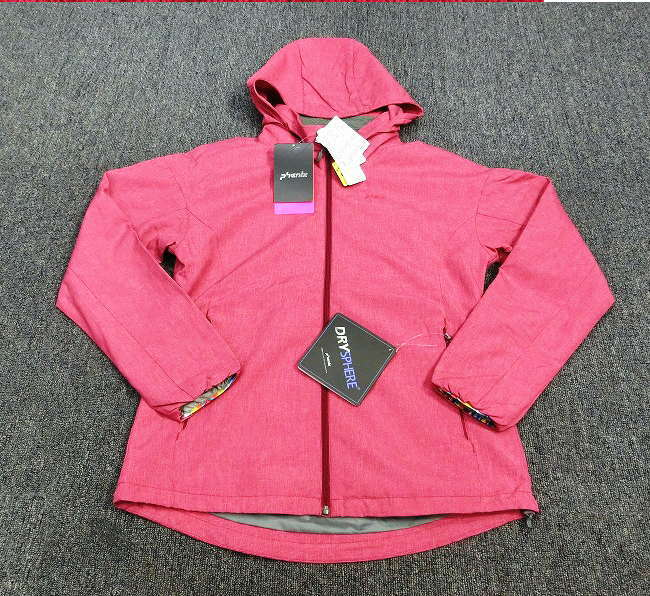 1057Y★フェニックス phenix ウインドジャケット PHA62WT60 Sサイズ/マゼンタ★新品/販売