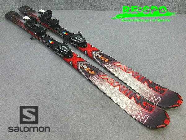 8194S★SALOMON/サロモン Xwing6R/BLK/137�+LZ9★中古