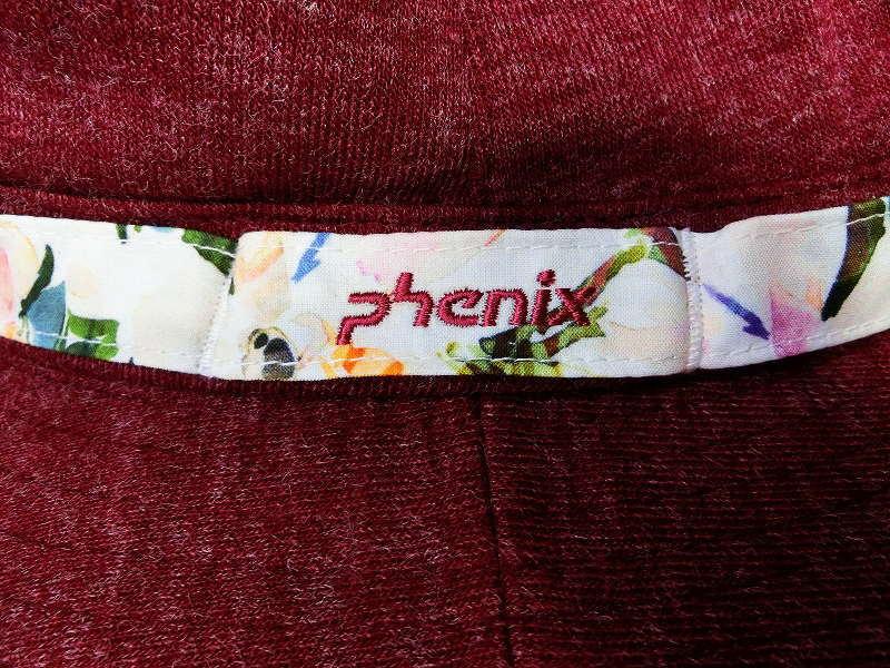 1064Y★フェニックス phenix ハット PHA68HW65 ボルドー/L★新品/販売