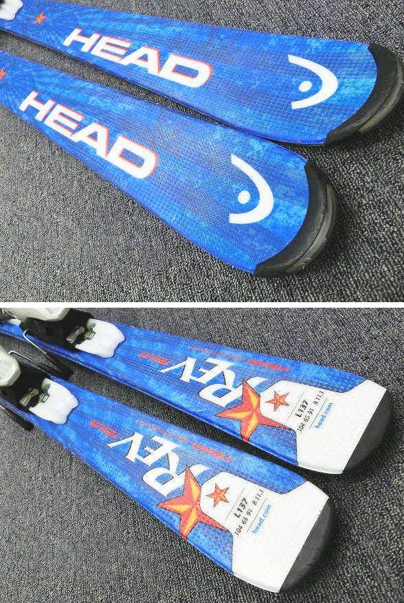 1212★ヘッド REV TEAM/BLU 127cm★Sセット/商品限定レンタル